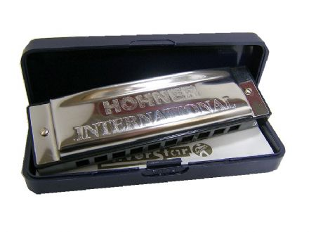Silver Star Harmonica from Hohner 000484